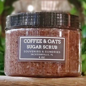 Coffee & Oats Sugar Scrub - made locally