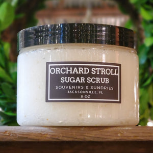 Orchard Stroll Sugar Scrub - made locally