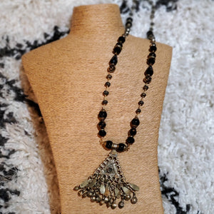 Vintage gypsy assemblage necklace - artist made