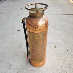 Antique Copper Foamex Fire Extinguisher