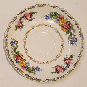 Saucer, Marigold Astoria Shape The Laconia by Alfred Meakin - 100 yrs old