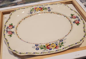 Oval Serving Plate, The Laconia by Alfred Meakin - 100 yrs old