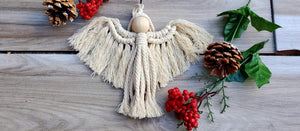 Macrame Ornament Class with Lisitsa Designs