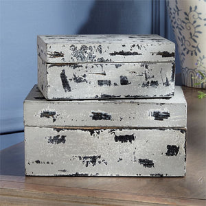 Distressed Grey box