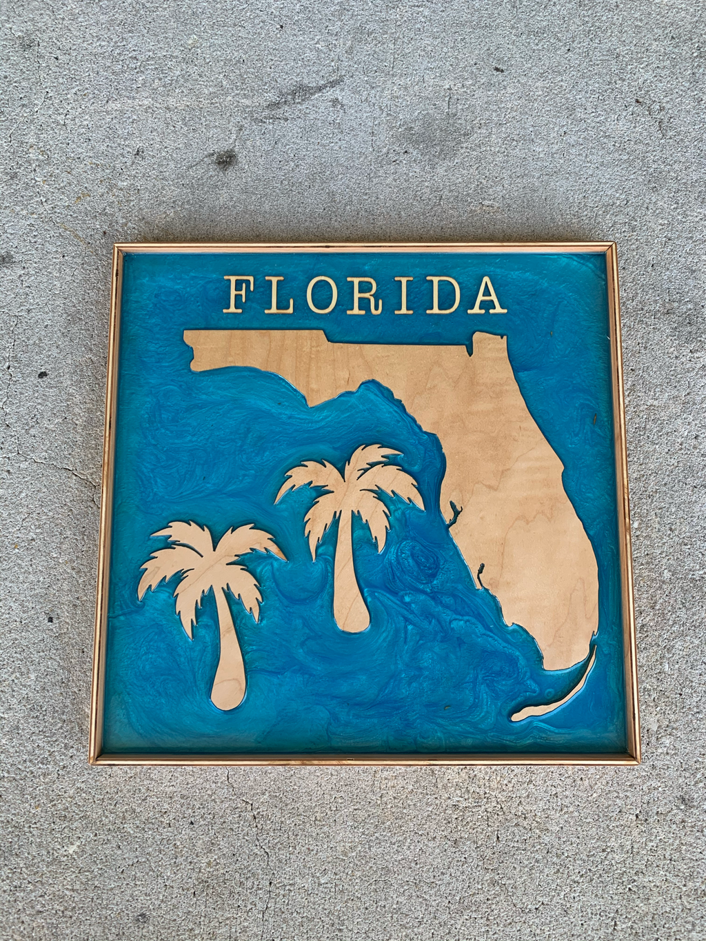 Handmade Florida Resin Art