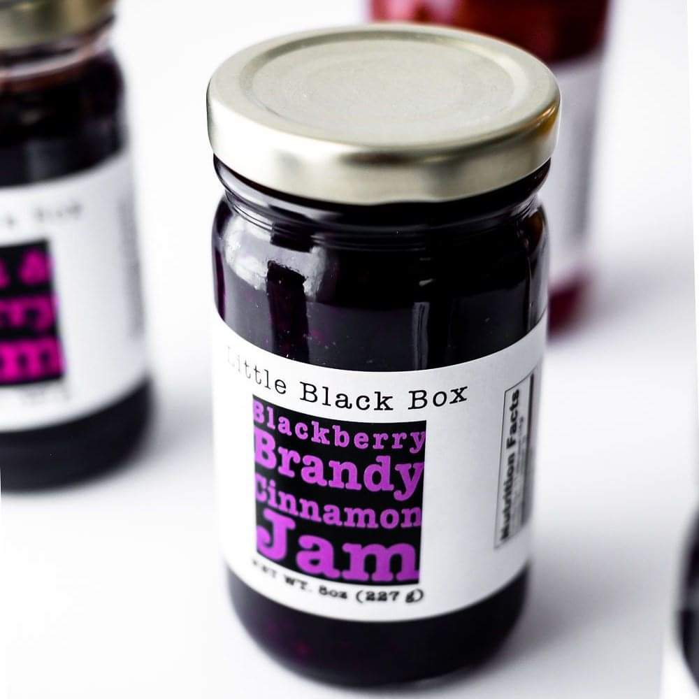 Blackberry Brandy Cinnamon Jam