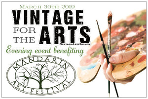 Vintage for the Arts: Benefit of the Mandarin Art Festival