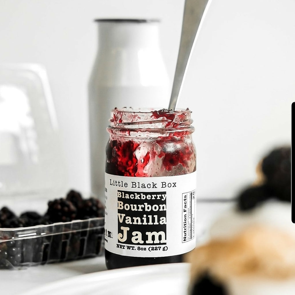 Blackberry Bourbon Vanilla Jam