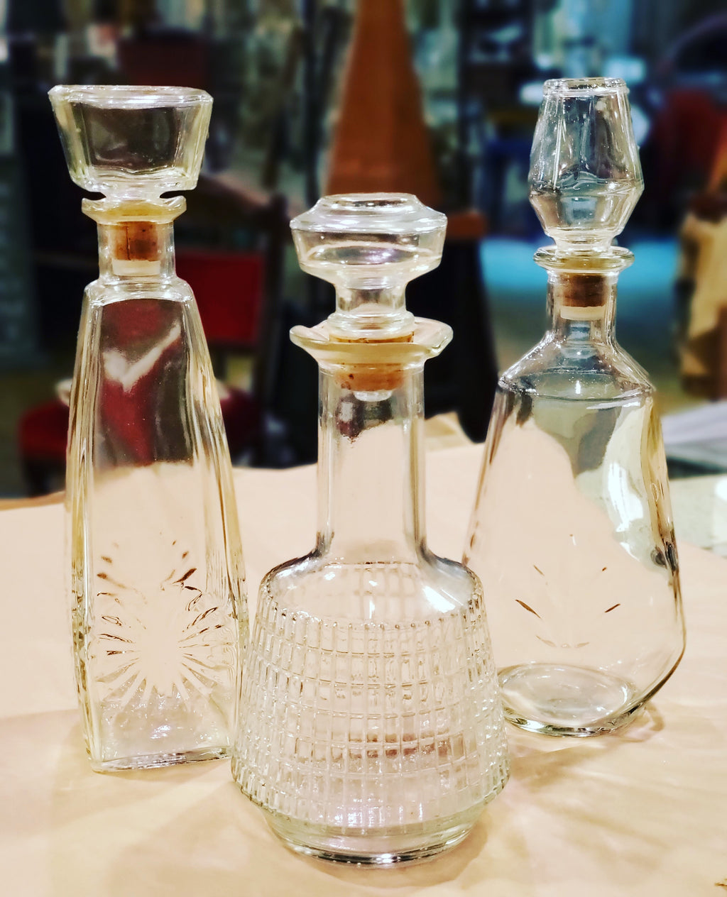 Midcentury Decanter