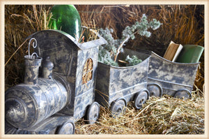 Large Metal Train - 3 Pieces