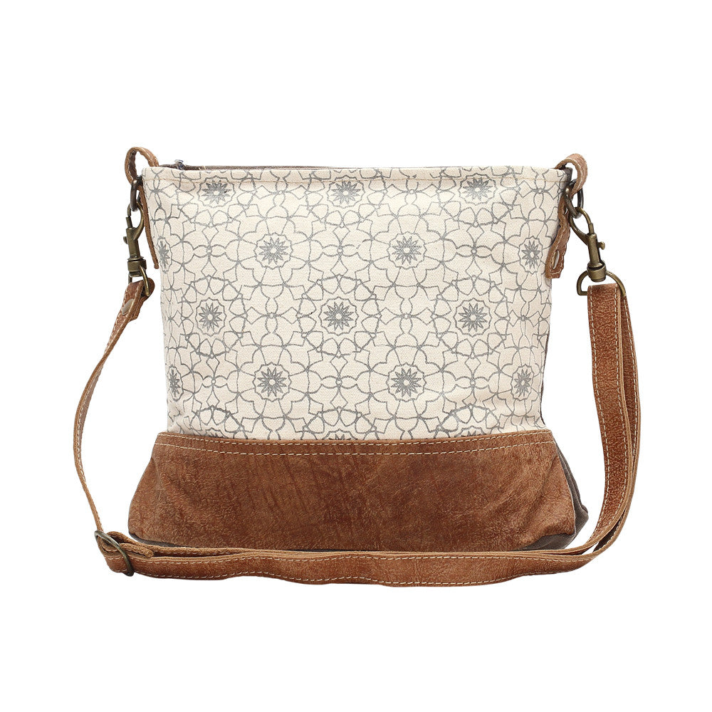 Myra Ferris Wheel Print Cross Body Bag