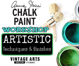 Artistic Techniques Workshop with Annie Sloan Chalk Paint™