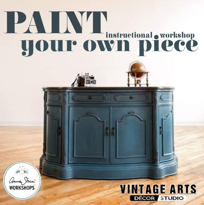 Paint Your Own Piece - Annie Sloan Chalk Paint™ Workshop