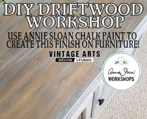 DIY Driftwood Effect Workshop with Annie Sloan Chalk Paint™