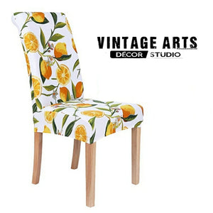 Lemon Slipcover for Dining Chair