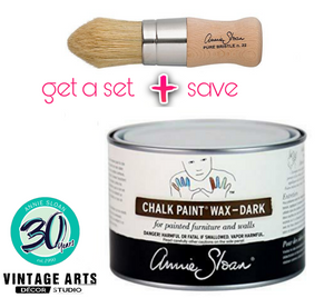 DARK WAX (brown) by Annie Sloan Chalk Paint®