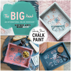 THE BIG PAINT Tray Kit and Online Workshop by Annie Sloan Chalk Paint