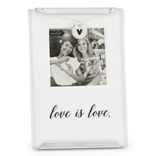 Love is Love photo clip frame