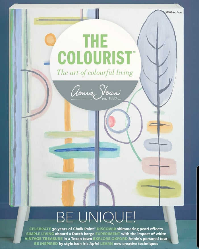 The Colourist Issue #4: The Art of Colourful Living Bookazine by Annie Sloan