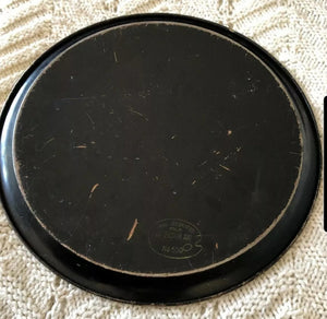 Vintage Toleware Tray By Pilgrim Art No. 500