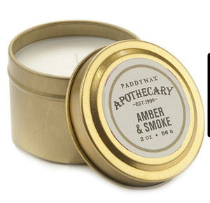 Amber & Smoke - Paddywax Apothecary Soy Candle