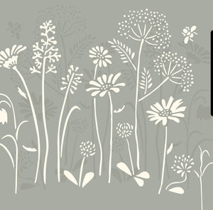 NEW Meadow Flowers Stencil by Annie Sloan®