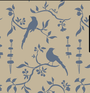 NEW Countryside Bird Stencil by Annie Sloan®