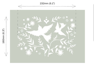 NEW Mexican Birds Stencil by Annie Sloan®