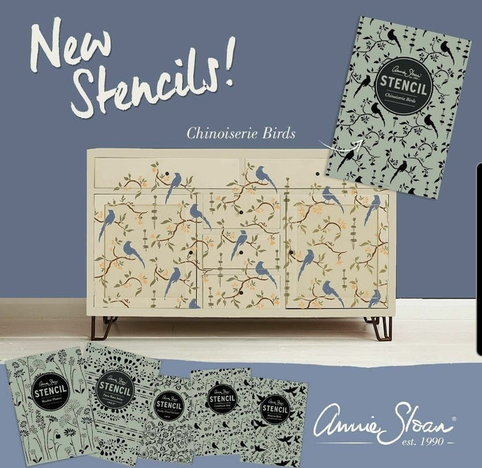 NEW Chinoiserie Birds Stencil by Annie Sloan®