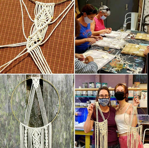 Macrame Workshop - Hoop Wall Hanging