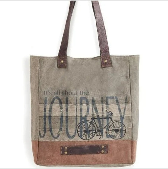 Journey Tote Bag by Mona B