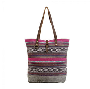 Polychromatic Tote Bag by Myra Bag