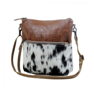 Engraved crossbody bag by Myra Bag