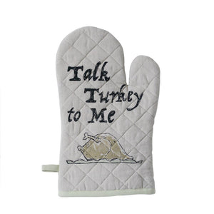 "Cotton Hot Mitt ""Talk Turkey To Me"""