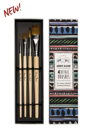 Detail Brush Set by Annie Sloan Chalk Paint