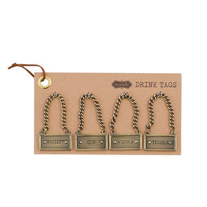 Decanter tag set