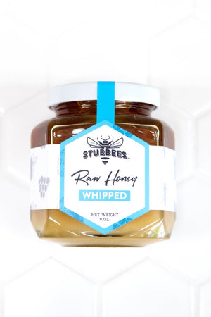 Stubbees Raw Creamed Honey - Made in Jacksonville Florida