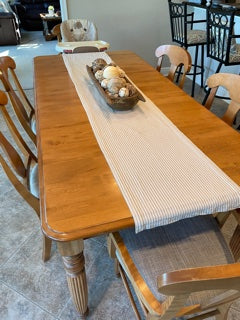 Vintage Farmhouse Table with leaf - solid wood (no chairs)