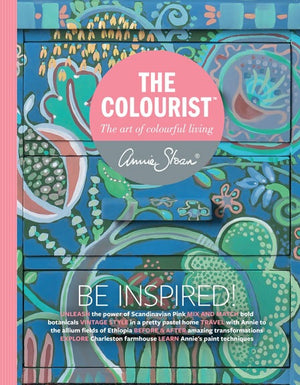 The Colourist Issue #1: The Art Of Colourful Living - Bookazine by Annie Sloan