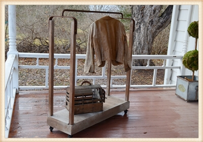 Industrial Clothier Cart