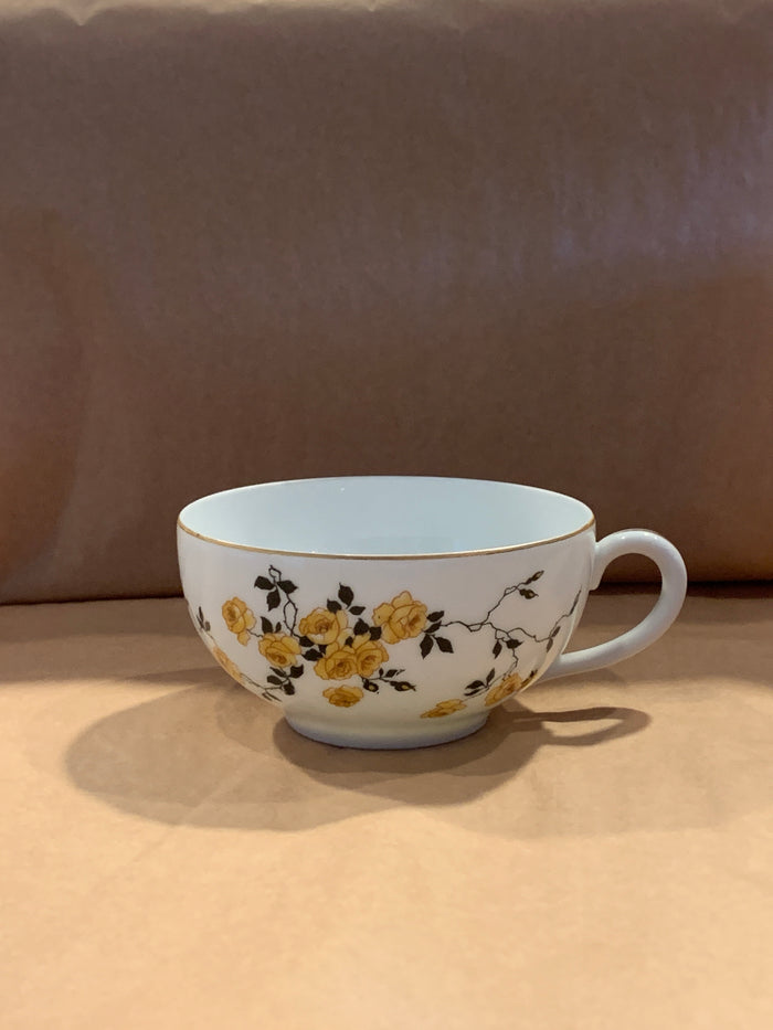 Yellow rose teacup O.R.