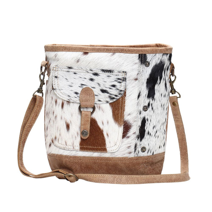 Multi Hides Shoulder Bag by Myra Bag