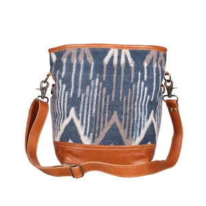 Blue Mist Shoulder Bag by Myra Bag