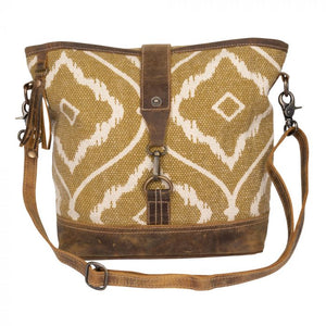 Brown Aesthetic Shoulder Bag by Myra Bag
