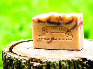 Cherry Almond Goat Milk Soap:Honey Sweetie Acres