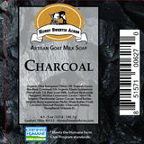 Charcoal Goat Milk Soap:Honey Sweetie Acres