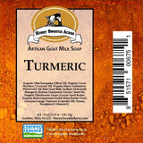 Turmeric Goat Milk Soap:Honey Sweetie Acres