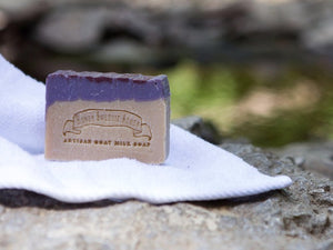 Black Raspberry Goat Milk Soap