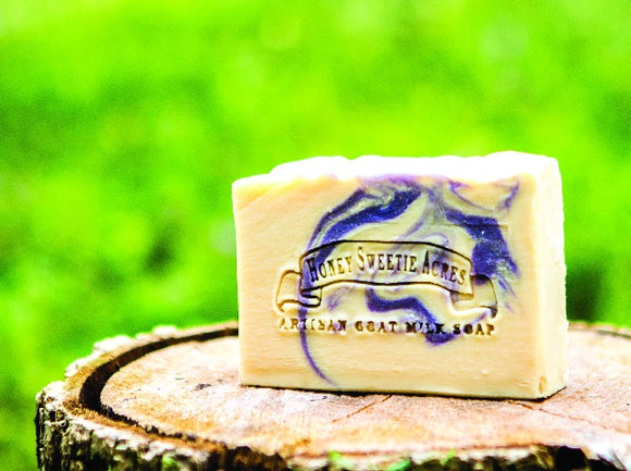 Lavender Essential Oil Goat Milk Soap:Honey Sweetie Acres