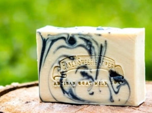 Little Black # Goat Milk Soap:Honey Sweetie Acres
